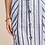 Thumbnail: Stripe with linned button down skirt