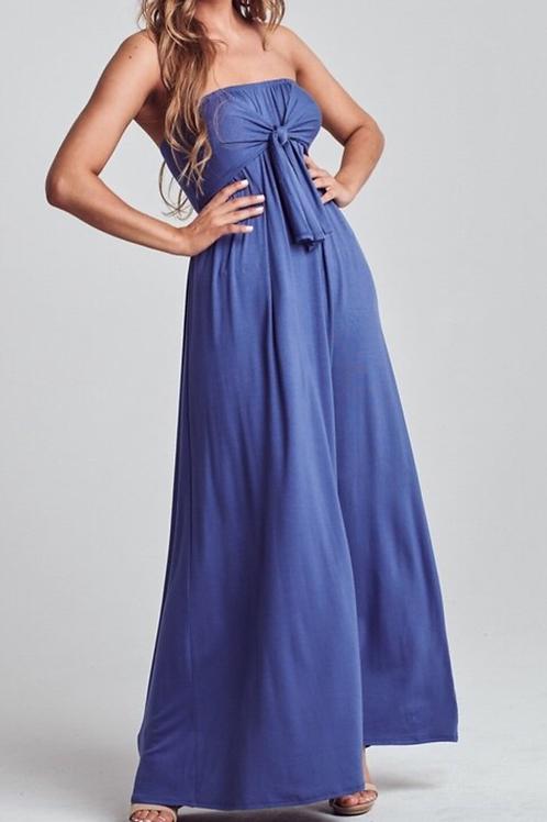 Maxi denim dress