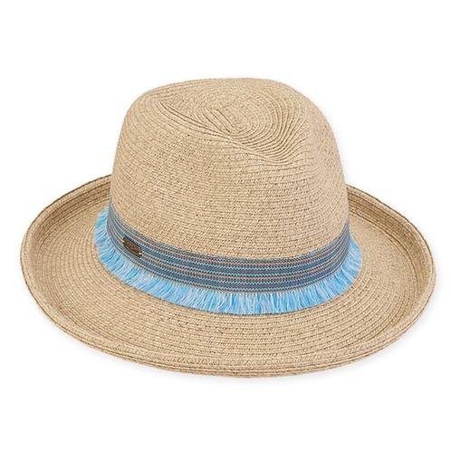 Fedora paper braid hat