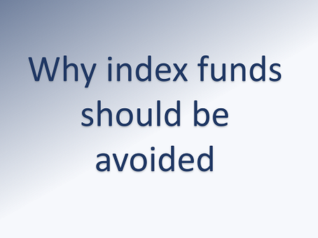 How index funds lead to mediocre results at the best