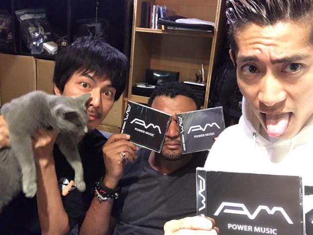 "A.M ALBUM""POWER MUSIC""発売開始!"