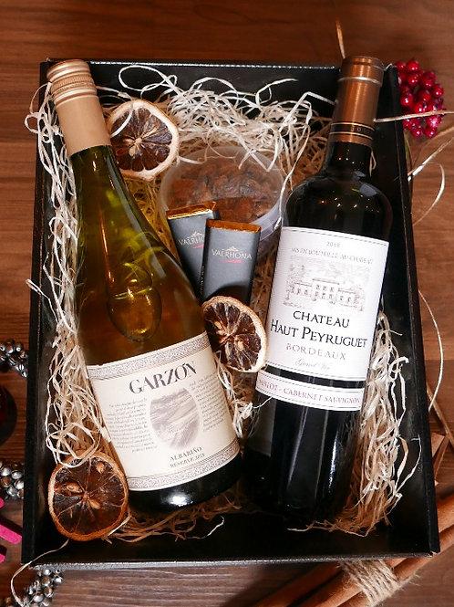 Uruguayan/French Wine & Snacks Hamper