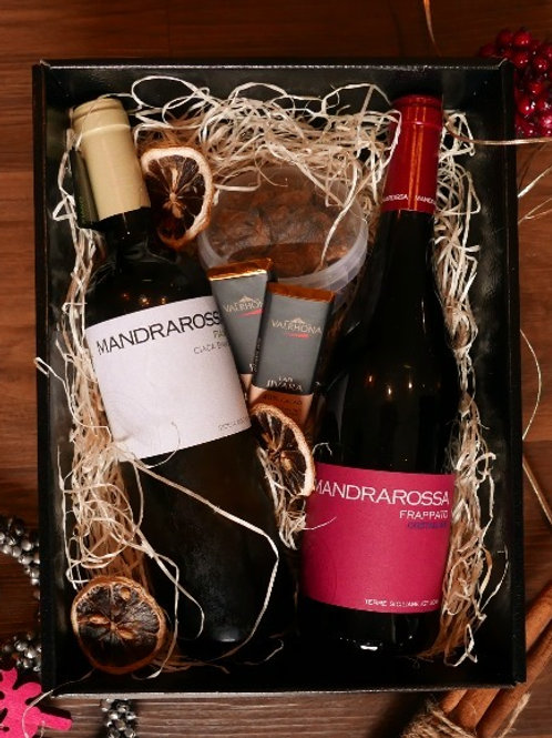 Sicilian Wine & Snacks Hamper