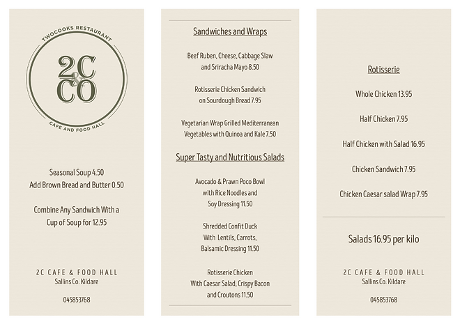 2C cafe Menu website.png