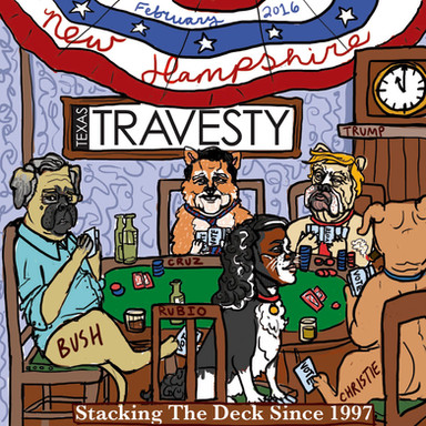 Republican Poker Dogs Travesty Cover