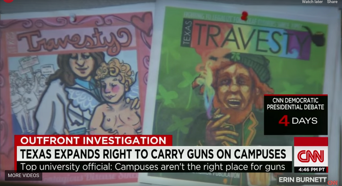Travesty Covers on CNN