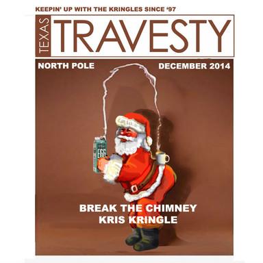 Kardashian Santa Travesty Cover
