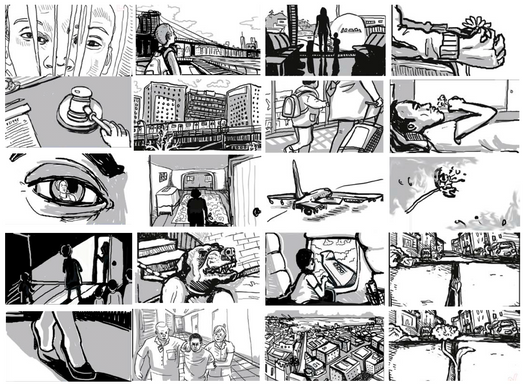 Storyboard images