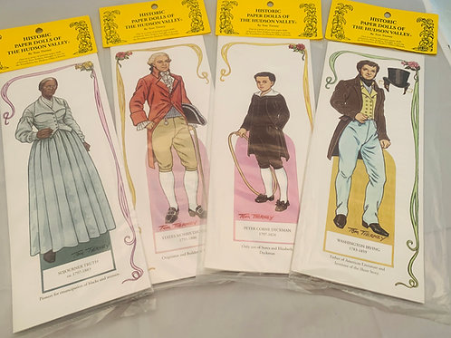Historic Figures of the Hudson Valley Paper Dolls