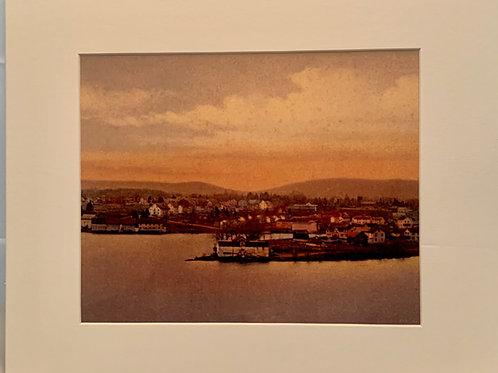 Renee Ellis Vintage Views: Wappingers Lake Sun Glow