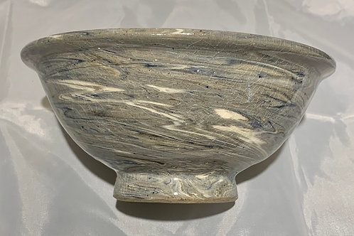 Polly Myhrum Grey Swirl Bowl