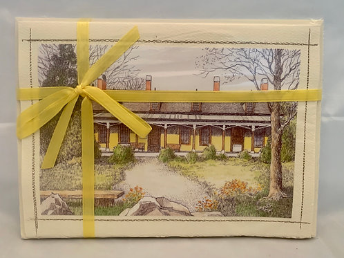 Mesier Homestead Note Cards by Artist Theresa Morgan - Set of 5 Cards