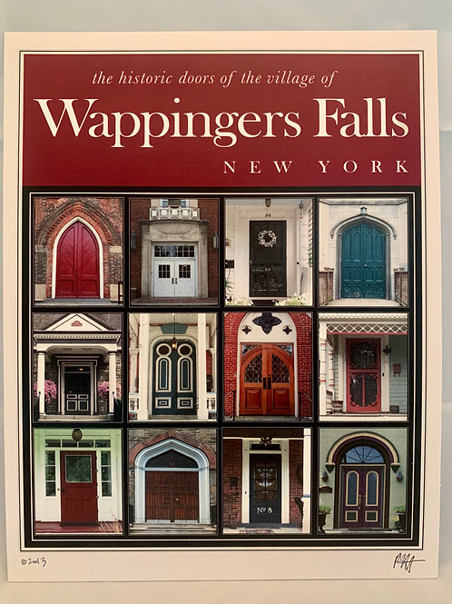 "Doors of Wappingers - 8""x10"" SMALL POSTER"