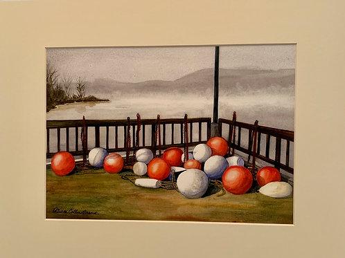Patrica Broun Watercolors:  Chelsea Yacht Club