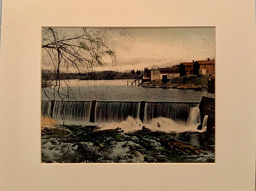 Renee Ellis Vintage Views:  Upper Dam and Lake