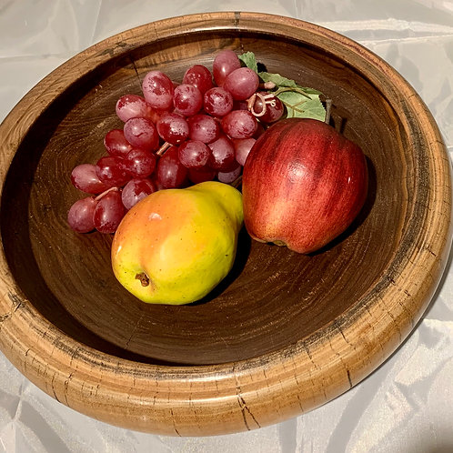 Bob Relyea Woodworking:  Large Centerpiece Fruit B3owl