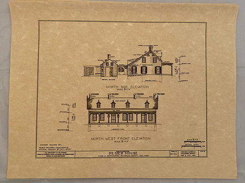 Mesier Architectural Prints 1937 - set of 11