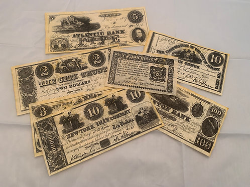 NY Colonial Currency 1776-1864