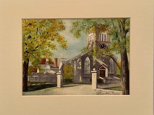 Patrica Broun Watercolors:  Zion Episcopal Church
