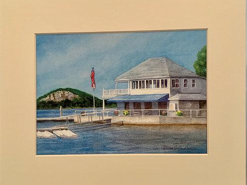 Patrica Broun Watercolors:  New Hamburg Yacht Club