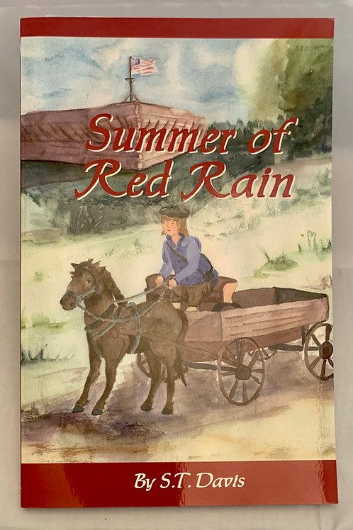 Summer of Red Rain, by Susan T. Davis