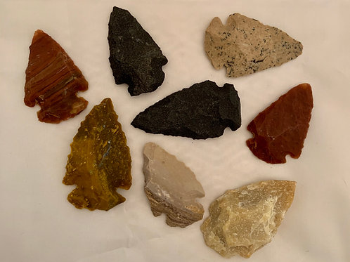 Points (Arrowheads) - assorted sizes and colors