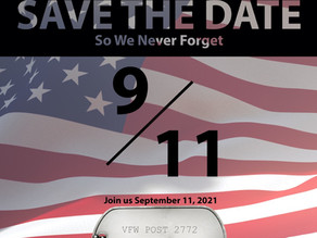 SAVE THE DATE: Texoma's 2021 Veteran Resource EXPO Honoring 9/11