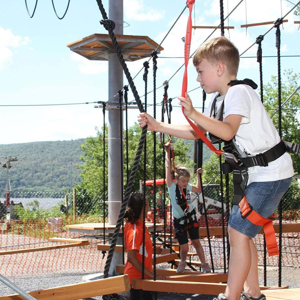 Passport Nyc Camp: Ropes Course