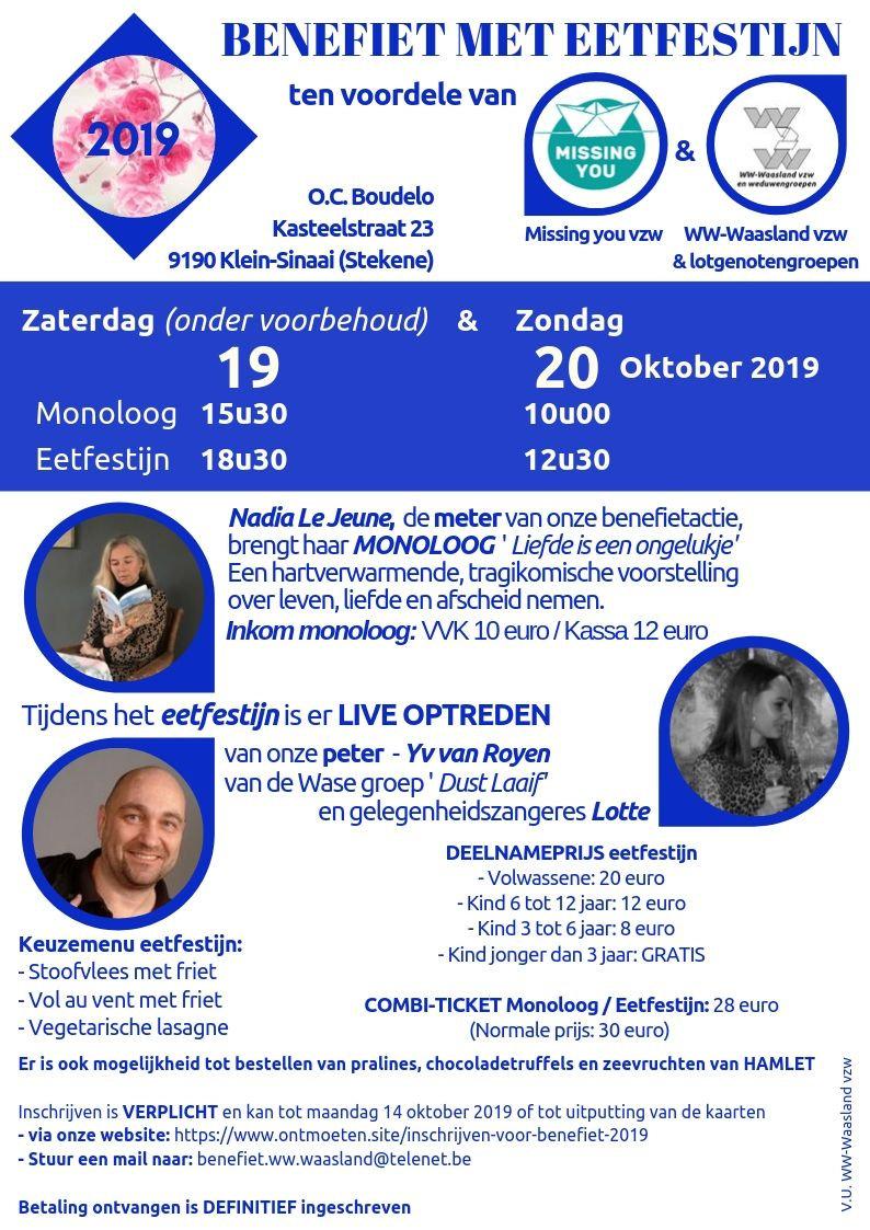 Benefiet en Monoloog 2019-2 - zaterdag o