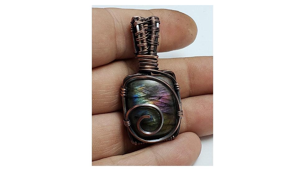 Rainbow Labradorite pendant