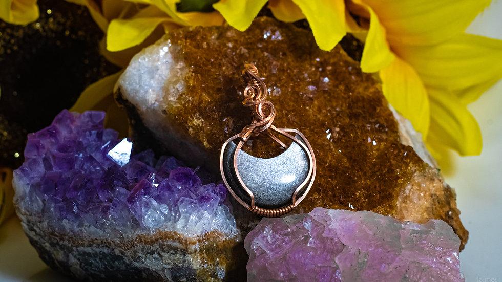 Silver Moon Obsidian