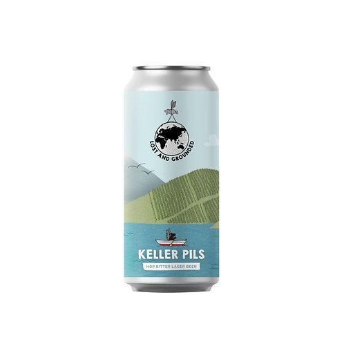 Keller Pils - Hop Bitter Lager Beer 4.8% - 440ml Can