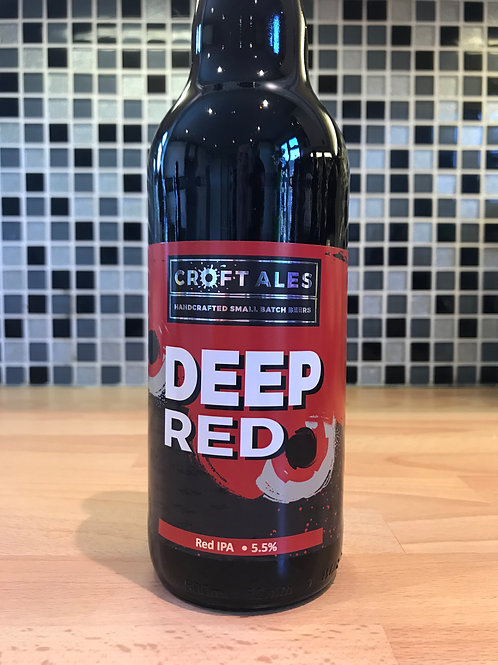 Deep Red - Red IPA 5.5% - 500ml Bottle