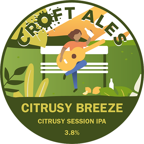 Citrusy Breeze - Citrusy Session IPA 3.8% - 440ml Can