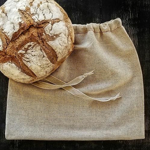 Irish Linen Bread Bag