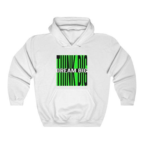 Think Big Dream Big Unisex Heavy Blend™ Hooded Sweatshirt