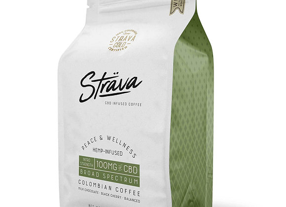 STRAVA CBD COFFEE - 4MG CBD/SERVING - MEDIUM ROAST