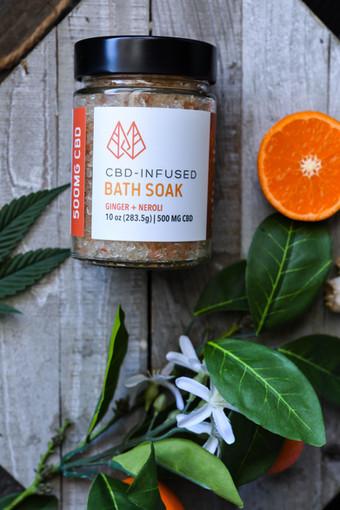Bath Salt Packaging by FOX & NUG