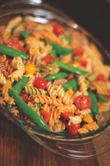 medicated pasta salad