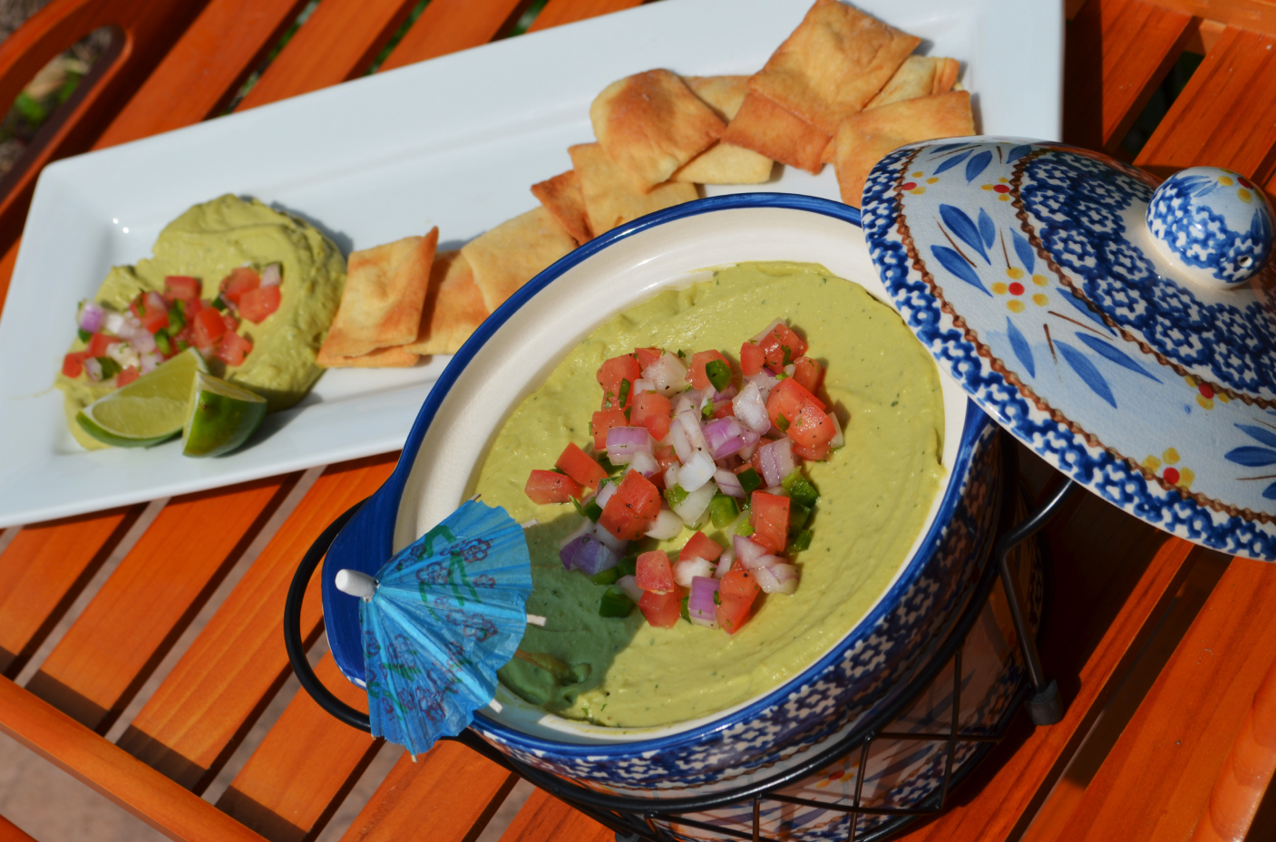 Medicated Avocado Hummus Dip by FOX & NUG