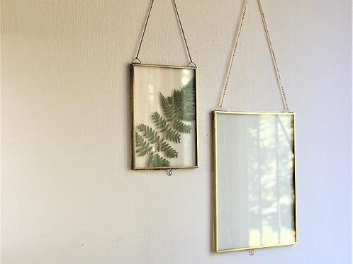 Рамки для гербария или фото. Латунь