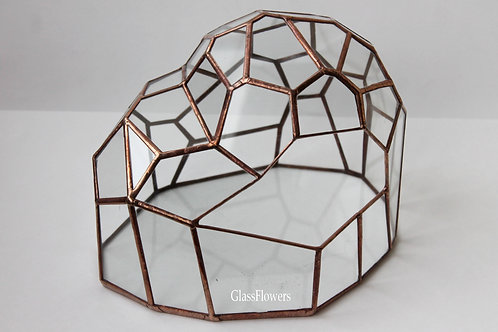 геометрический флорариум, флорариум спб, флорариум купить, флорариум питер на заказ, ваза для флорариума с суккулентами,