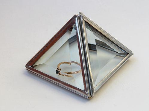 шкатулка, шкатулка для колец, свадебная шкатулка, геометрическая шкатулка