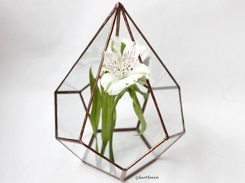 флорариум, флорариум спб, флорариум питер, флорариум купить, ваза для флорариума, геометрические вазы, ваза для минисада