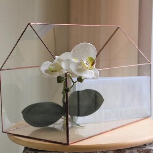 флоррариум домик, террариум купить, флорариум купить спб, емкость для флорариума, свадебный домик, флорариум стекло, спб