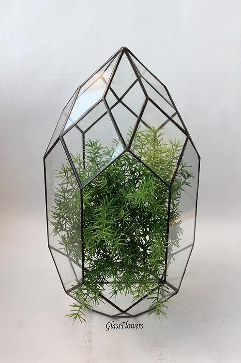 флорариум, флорариум купить, флорариум на заказ, ваза для флорариума, орхидариум, флорариум геометрический, флорариум купить