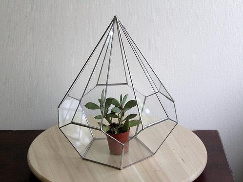 флорариум геометрический, ваза для флорариума
