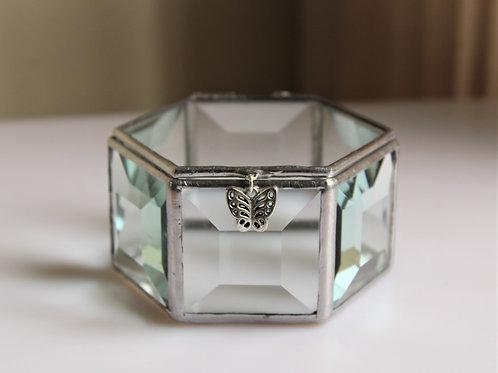 шкатулка, стеклянная шкатулка, шкатулка для колец, коробочка для колец, шкатулка свадебная для колец купить