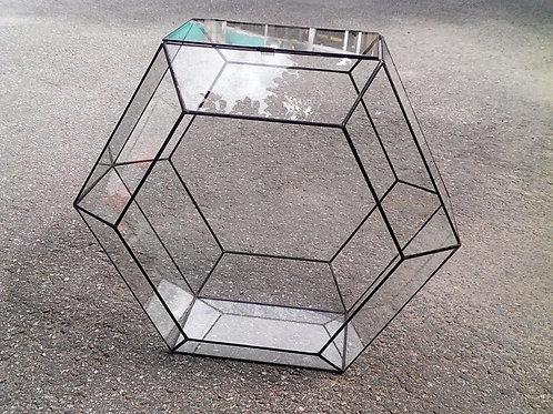 Флорариум геометрический Шестигранник Сота Бокс большой, d- 45 см