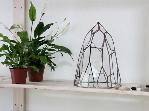 флорариум фриформ, флорариум необычный, геометрический флорариум